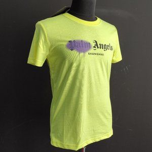 Palm Angels Shangai Green NWT T-Shirt For Men